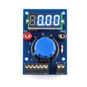 Kit simulator panel-voltmeter for 6 analog values