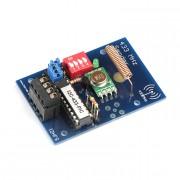 Kit I2C radio transmitter 433 MHz for DIN rail