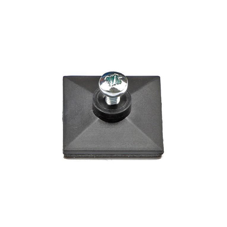 selbstklebefu mit innengewinde und schraube m3 x 6. Black Bedroom Furniture Sets. Home Design Ideas