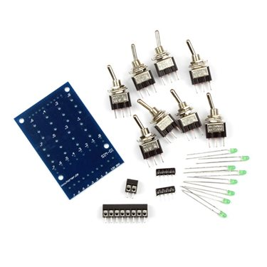 Kit simulator module for 8 digital signals