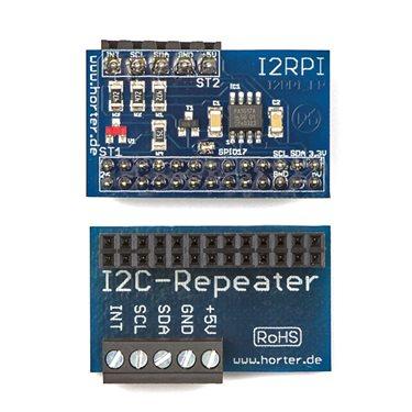 I2C-Repeater für Raspberry PI fertig bestückt