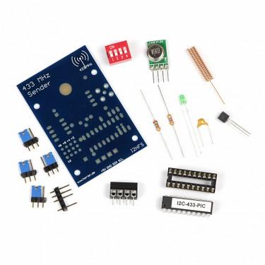 I2C-Funksender 433 MHz für Hutschiene