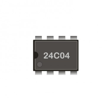 I2C-EEprom 512 Byte 4kBit DIL