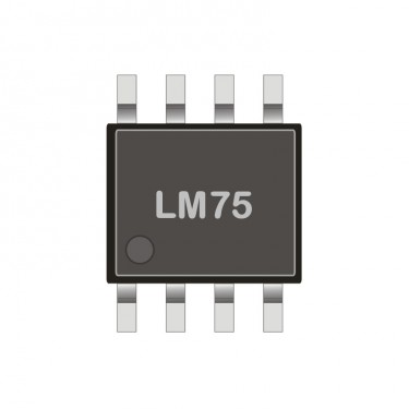 I2C digital temperature sensor SMD LM 75CIM-5