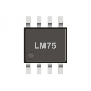 I2C digital Temperatursensor SMD LM 75CIM-5