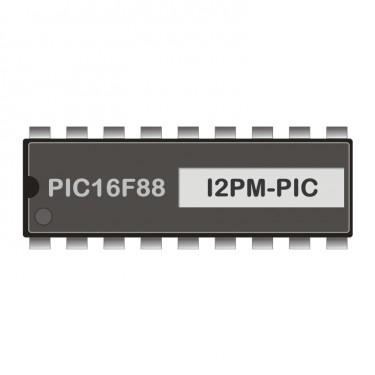 PIC16F88 programmed for I2C-RS232-Modem 1