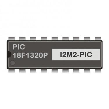 PIC18F1320P programmed for I2C-RS232-Modem 2