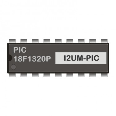 PIC18F1320P programmed for I2C-USB-Modem