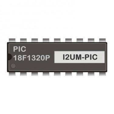 PIC18F1320P programmiert für I2C-USB-Modem