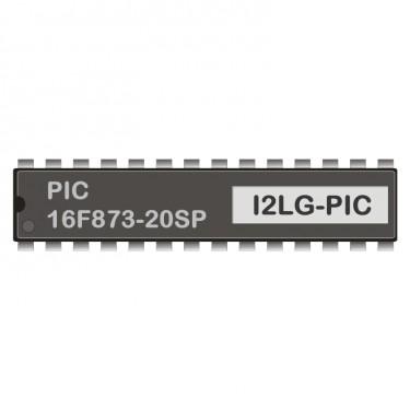 PIC 16F873-20SP programmiert für LCD-Gateway