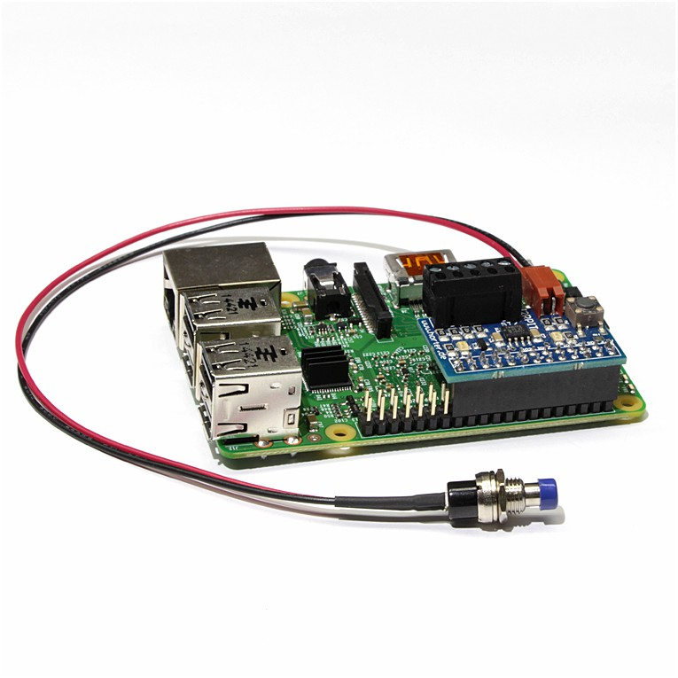 button connecting cable for I2C-Repeater I2RPI+T - horter