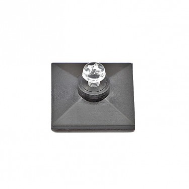 Self-adhesive base with thread and Plastic screw M3 x 6 mm