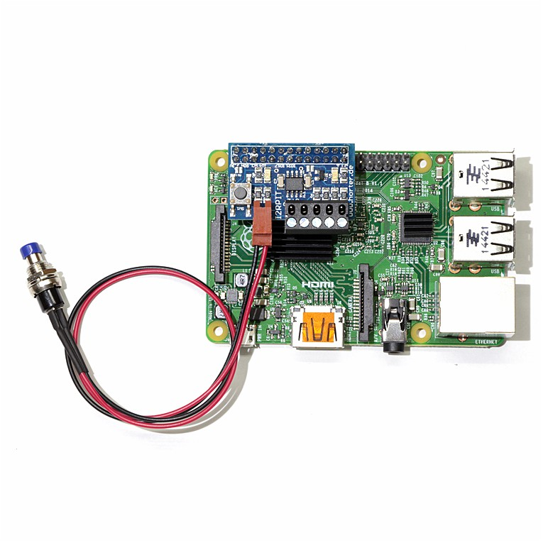 I2C-Repeater with switch for Raspberry PI finished - horter-shop de