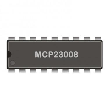 I2C-Expander MCP23008 DIL