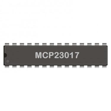 I2C-Expander MCP23017 DIL