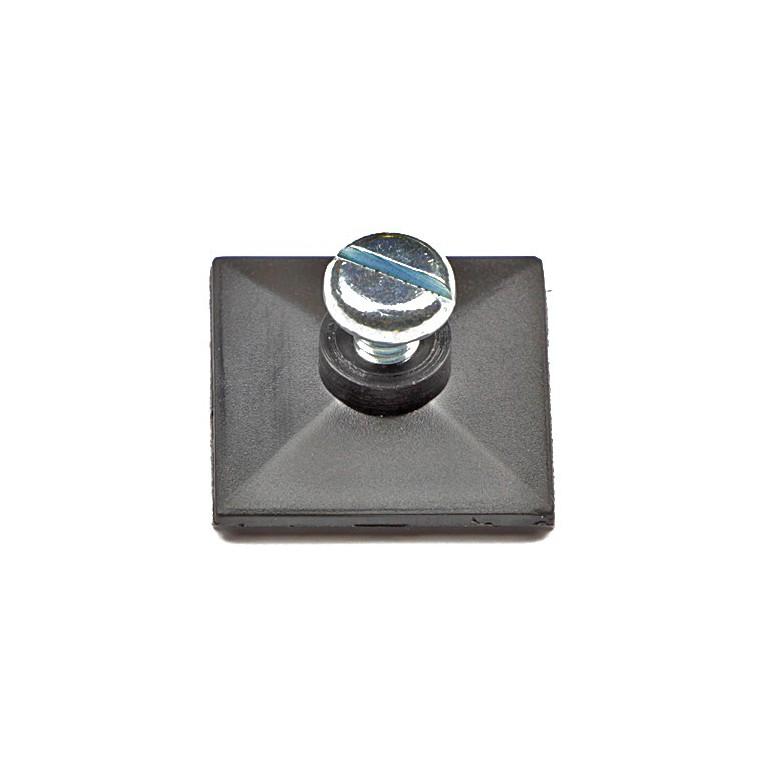selbstklebefu mit innengewinde und schraube m4 x 6. Black Bedroom Furniture Sets. Home Design Ideas