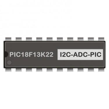 PIC18F13K22 programmed for Analog-Input I2HAE