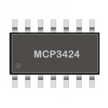 I2C Analog-to-Digital Converter - ADC 4 Channel 18-Bit