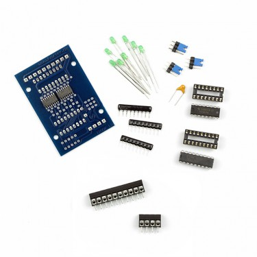 Kit I2C digital output module with optocoupler fix terminals