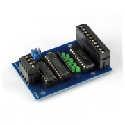 I2C digital output module plug in terminals