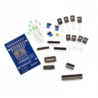 Bausatz I2C Output 24V 1A mit Optokoppler feste Klemmen