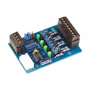 Kit I2C analog input 4 channel 18 bit with MCP3424