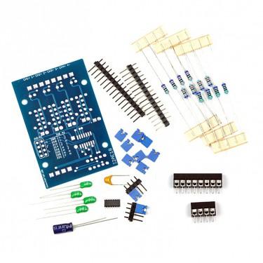 Bausatz I2C Analog Input 4 Kanal feste Klemmen