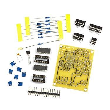 Kit I2C analog IO-card with PCF 8591