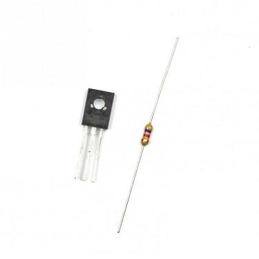 Transistor-Endstufe für I2C-Ausgabekarte