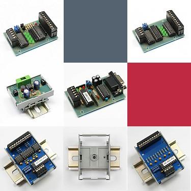 I2C DIN rail modules